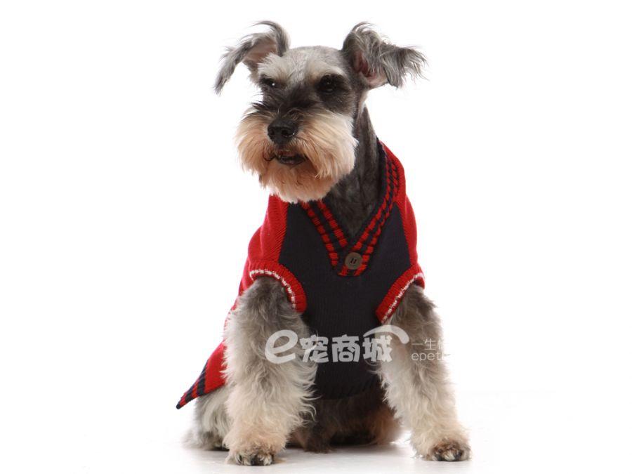 日本道格秋冬服饰美国经典毛衣小狗图案