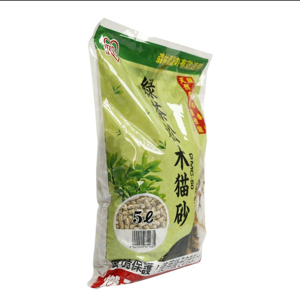 爱丽思iris 绿茶松木猫砂 5l(约2.8kg)